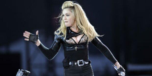Russen protestieren gegen Madonna