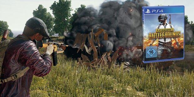 PUBG für die PS4 ab sofort erhältlich