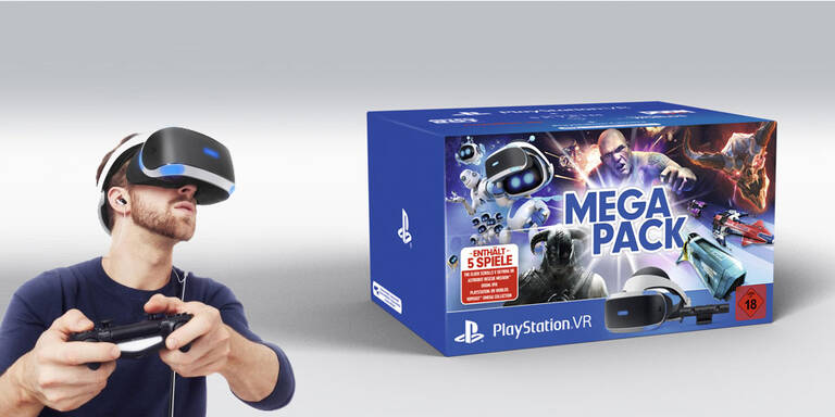 Sony greift mit PS VR Mega Pack an