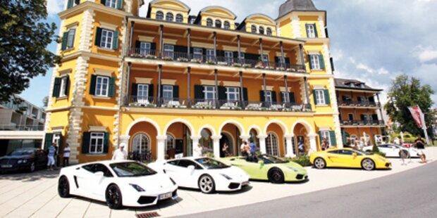 250 Luxusautos am Wörthersee
