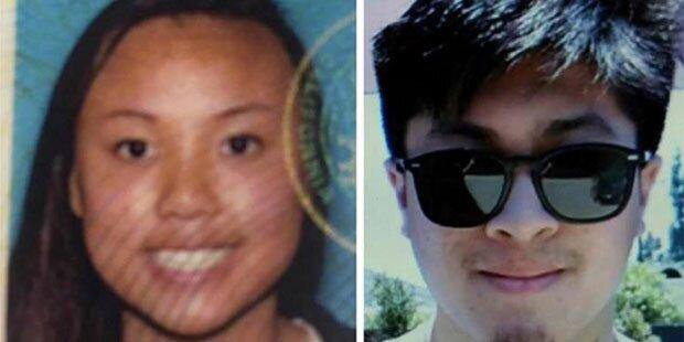 So traurig: Junges Paar umarmt sich im Tod