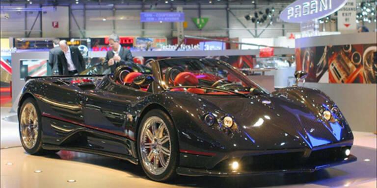 Luxusmesse für Autos in Wien