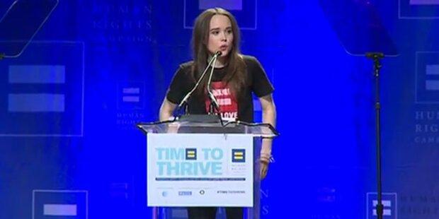 Outing: Ellen Page ist lesbisch