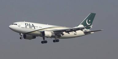Passagierflugzeug über Pakistan vermisst