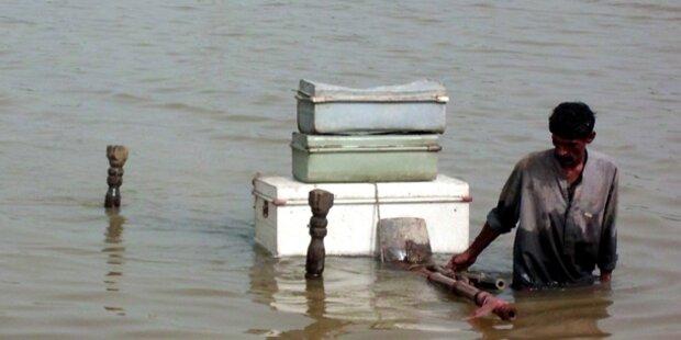Tausende von Überschwemmungen betroffen