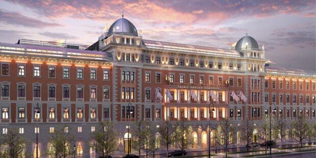 Wien wird die Stadt der Luxus-Hotels