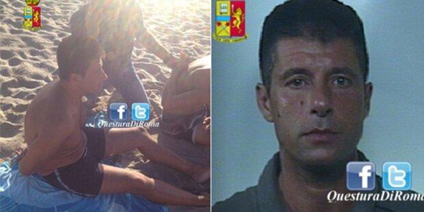 Mafioso in Badehose festgenommen