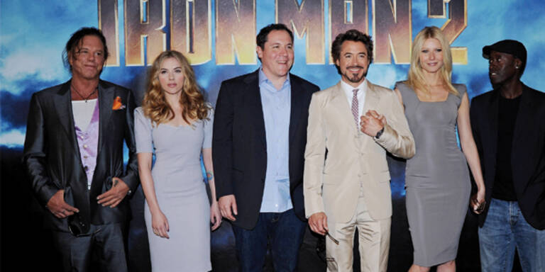 Gwyneth Paltrow: 'Iron Man' ist keine Herausforderung