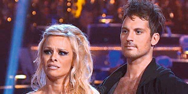Pamela Anderson flog als Erste raus