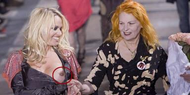 Pamela Anderson: Busenblitzer