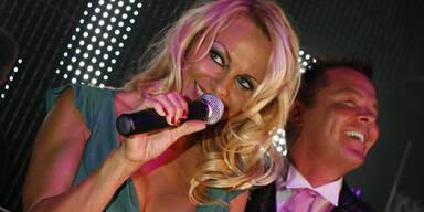 Pamela Anderson: Wirr in Frankfurt