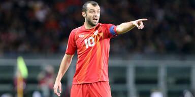 Goran Pandev, Kapitän der nordmazedonischen Fußballnationalmannschaft