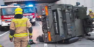 Fahrschüler baute Unfall mit nagelneuem Panzer