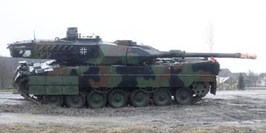 Erstmals seit 1945: Deutsche Panzer an russischer Grenze