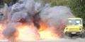 Panzerwagen Sprenstoff Test