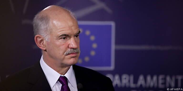 Papandreou will keine finanzielle Hilfe