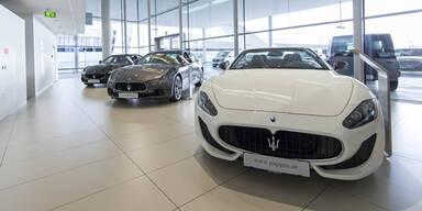 Neuer Maserati Standort in Österreich