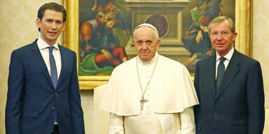 Haslauer lädt Papst nach Salzburg ein