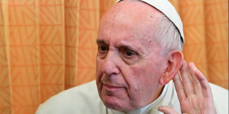 Papst kann sich Verheiratete als Priester vorstellen