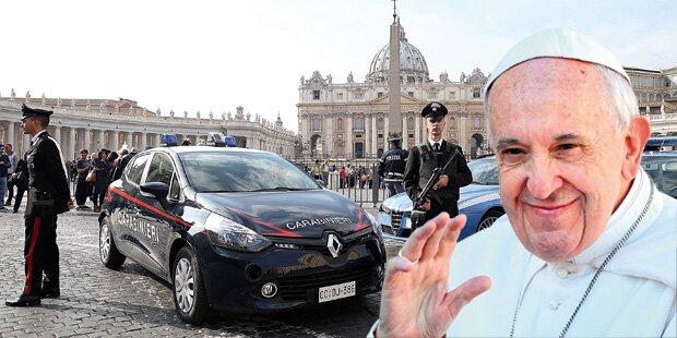 Terror-Angst bei Papst-Feiern