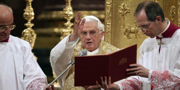 Papst kritisiert Machtgier in der Politik
