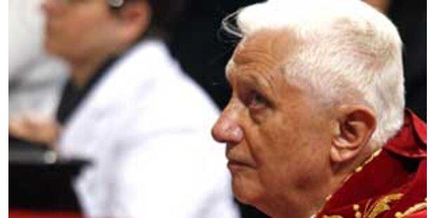 Ärger über Tadel des Papstes