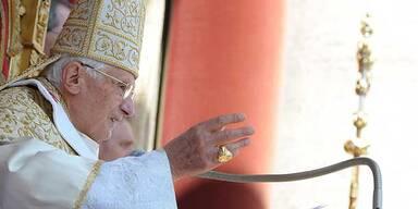 So feierte der Papst Ostern
