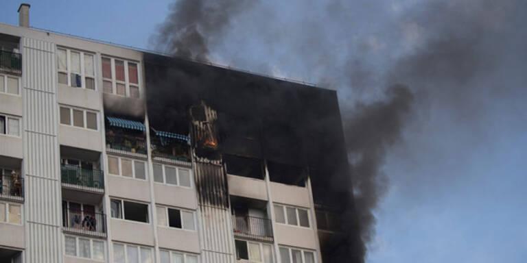 Vier Tote nach Hochhausbrand in Paris