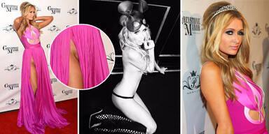 Paris Hilton: Ohne Höschen am Red Carpet