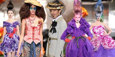 Paris Fashion Days Haute Couture Start der Style-Show