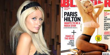 Paris Hilton posiert als Madonna