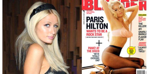 Paris Hilton posiert als scharfe Madonna