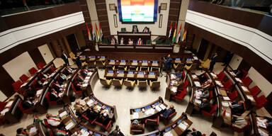 Kurden-Parlament Irak