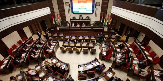 Irak: Kurden-Parlament billigt Unabhängigkeitsreferendum