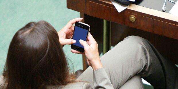 Twitter-Wirbel im Parlament