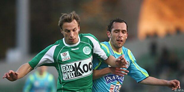 Graz kam gegen Mattersburg über 0:0 nicht hinaus