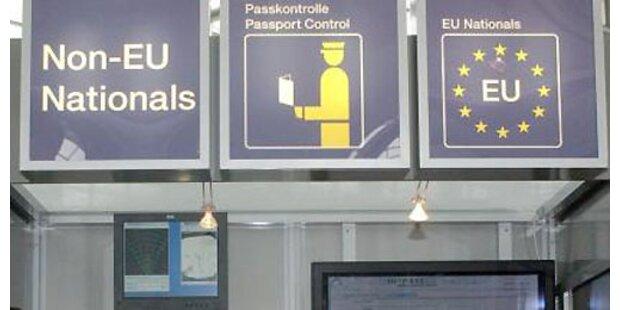 Polizist sah Pornobilder während der Passkontrolle