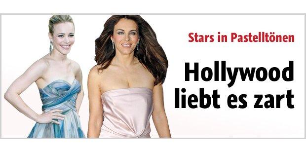 Hollywood liebt es zart - in Pastell
