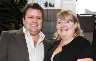 Paul Potts und Frau Julie-Ann