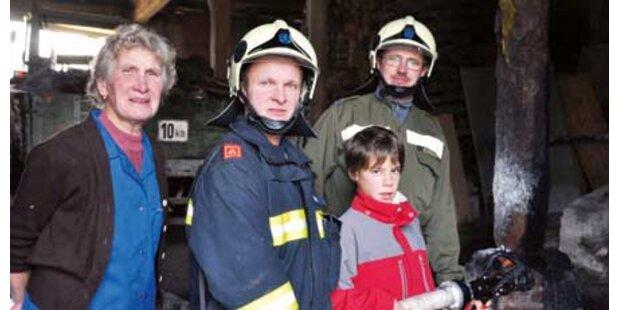 Paul rettete Familie vor der Feuerhölle