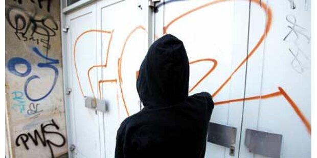 Familienvater wegen Graffiti vor Gericht