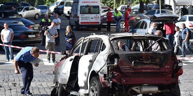 Journalist stirbt bei Explosion in Kiew
