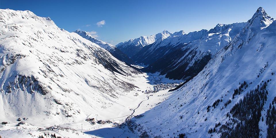 Paznauntal - Bergpanorama