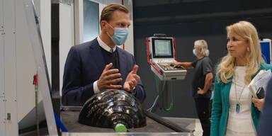 Heimische Firma liefert Tanks für Galileo-Satelliten