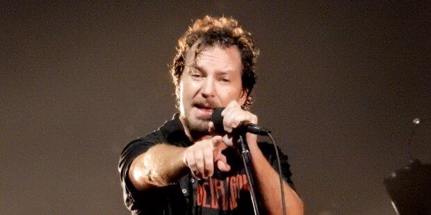 Wein und Hits beim Pearl Jam-Konzert