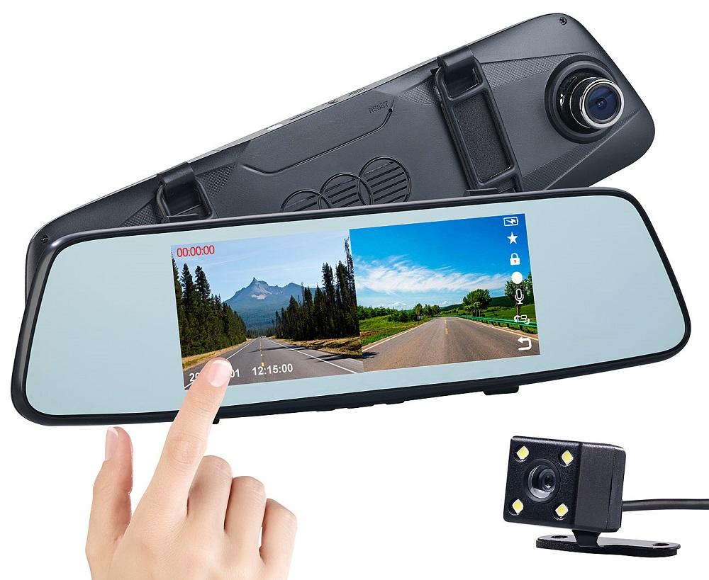 Pearl - ADV - KW49 - Full HD Rückspiegel Dashcam nx6104 - Storybild #1