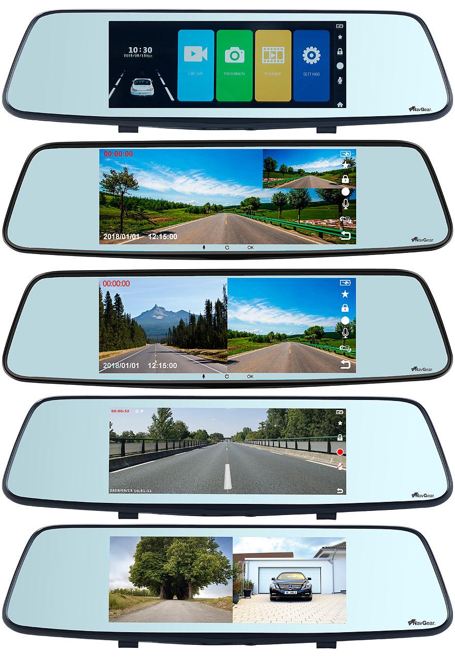 Pearl - ADV - KW49 - Full HD Rückspiegel Dashcam nx6104 - Storybild #2