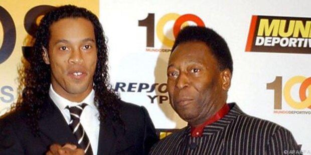 Pele wünscht sich Ronaldinho in Brasiliens Kader
