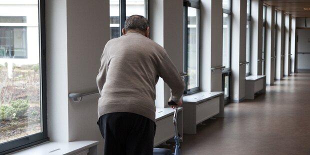 84-Jähriger hortete Waffen in Pflegeheim