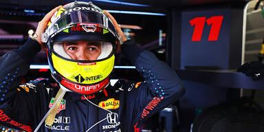 Perez siegt dank Verstappen-Crash